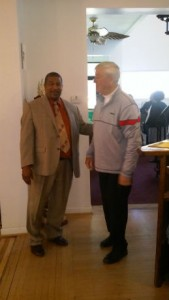 Jubilee Homes, executive director, Walt Dixie pictured with vice president Father James Mathews