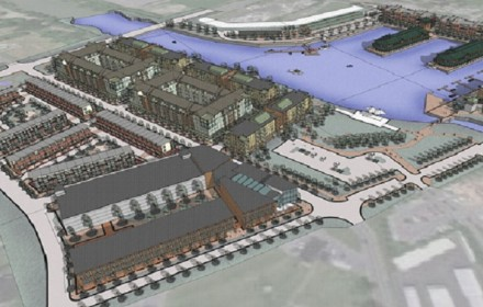 Syracuse Inner Harbor Project, Photo: QPK Design