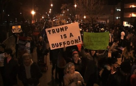 Chicago Trump protests