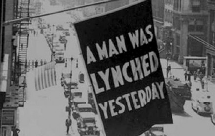naacp lynching flag
