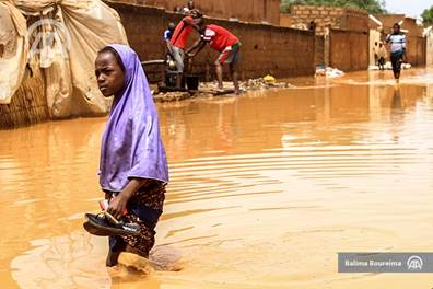MR Vision national Africa floods - flood in niamey niger