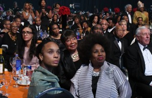 """Audience at CBCF Phoenix Awards Dinner appears spellbound while listening to message from the Rev. William Barber, """"Knowing Who We Are In Times Like These."""" PHOTO: Roy Lewis/Trice Edney News Wire"""